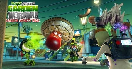 Disponible el DLC 'Garden Variety Pack' de Plants vs. Zombies: Garden Warfare