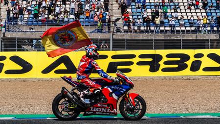 Álvaro Bautista prolongó la racha regresando al podio con su Honda CBR1000RR-R y rozó su mejor fin de semana del año