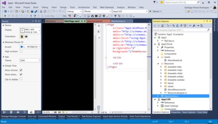 Vs2015 Windows Phone Ui Designer
