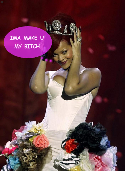 Rihanna y la novia de Chris Brown, en plena ciber-gresca a lo choni de barrio
