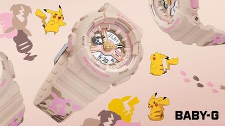 Casio lanza en México su reloj de Pikachu en su nueva colaboración con Pokémon: este es su precio y características