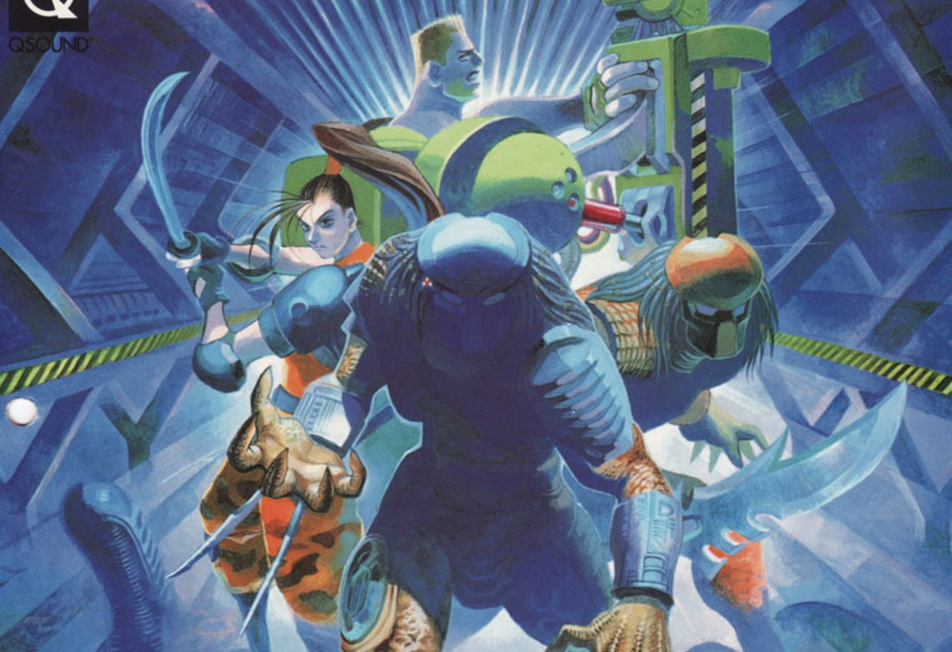 Retroanálisis de Alien vs. Predator, un beat 'em up de Capcom repleto de xenomorfos y por el que no parecen...