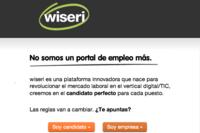 Wiseri: un anti-portal de empleo español