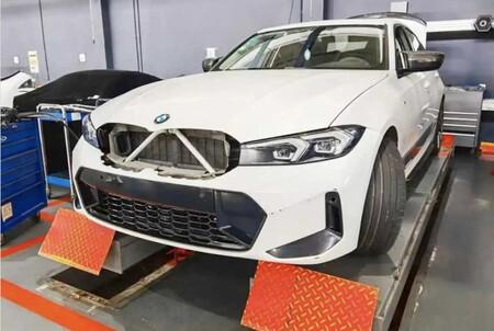 ¡Espiado! El facelift del BMW Serie 3 queda al descubierto a un año de su estreno