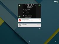 Cómo volver a poner los widgets de escritorio en la pantalla de desbloqueo de Lollipop