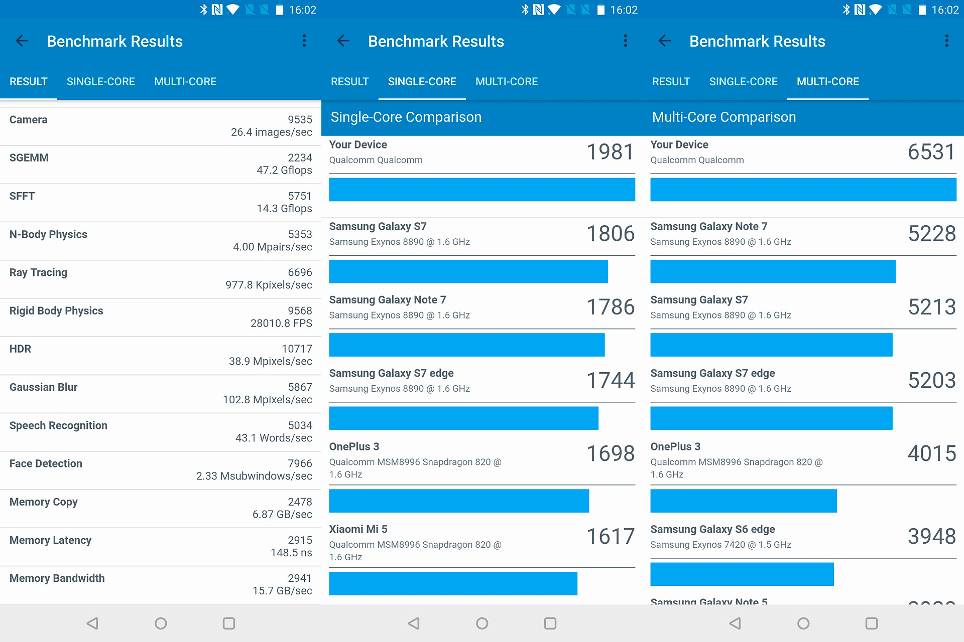 Foto de OnePlus 5T, benchmarks (4/8)