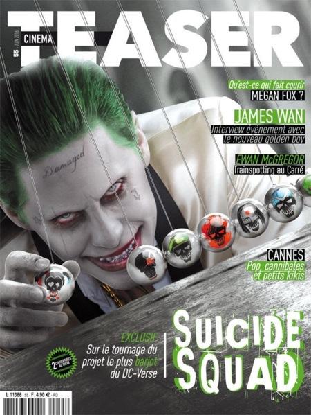 'Escuadrón suicida', nuevos carteles e imágenes promocionales