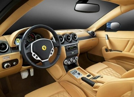 Ferrari 612 interior