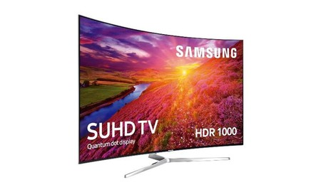 Más barata todavía: la Samsung 55KS9000, por 1.424 euros en los Outlet Days de Mediamarkt