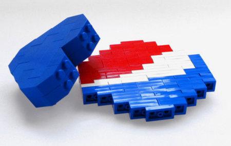 Broches Pepsi con fichas LEGO de Dee & Ricky