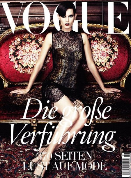Muchas ediciones de Vogue deberían seguir a su vecina alemana...