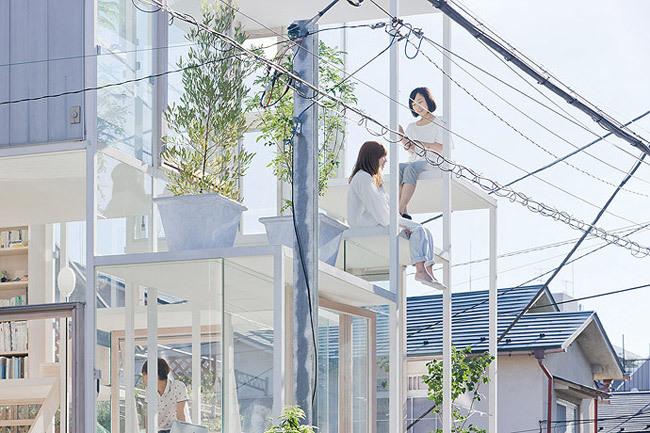 Foto de Casas poco convencionales: una casa completamente transparente (1/14)