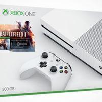 Microsoft lanzará la Xbox One S con el juego Battlefield 1 en la Tienda de Microsoft