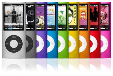 """Nuevo iPod Nano, todo un """"arco iris"""" en formato musical"""