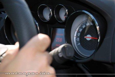 Conducción a alta velocidad