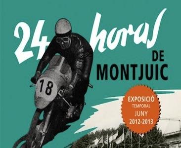 Exposición 24 horas de Montjuic en el Museu de la Moto de Barcelona