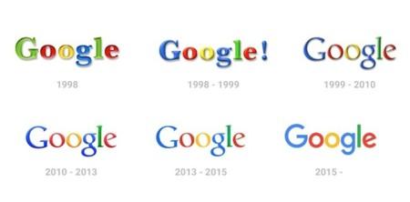 Historia Logos Google