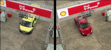 Ambulancia vs Ferrari 488 GTB. ¿Quién ganará?