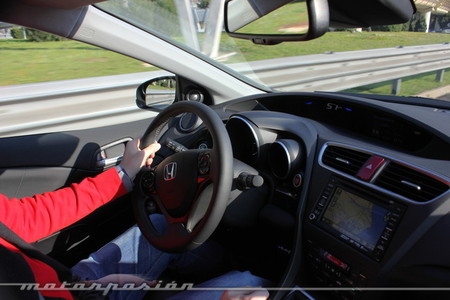 Honda Civic Tourer - prueba dinámica