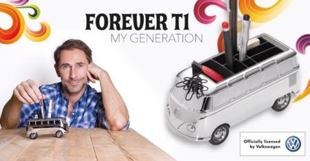 La T1 de Volkswagen sobre la mesa