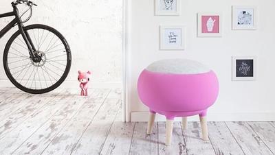 Un puf inspirado en una oveja puede ser el complemento perfecto para tu dormitorio