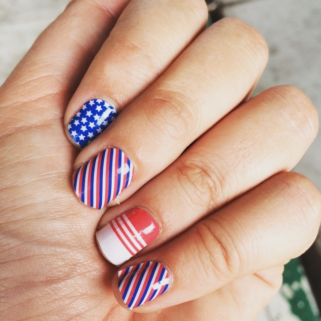Nail Art 4th Of July Nails Hands Jamberry 1289941 Jpg D