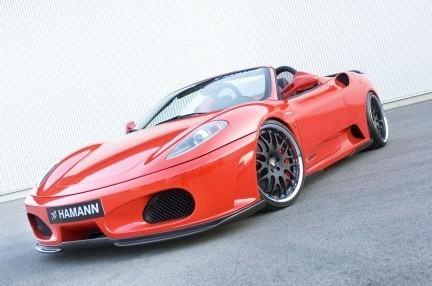 Hamann Ferrari F430 Spider, y van...