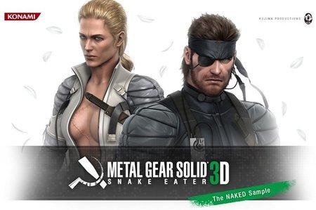 'Metal Gear Solid 3D: Snake Eater', primer vídeo ingame