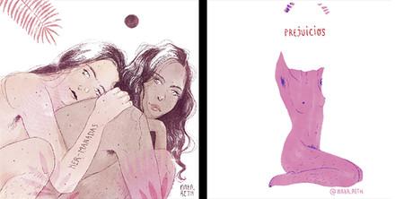 Nazareth Dos Santos Ilustradoras Feministas