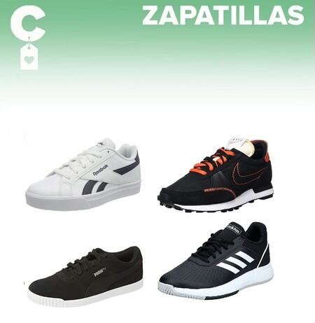 Chollos en tallas sueltas de zapatillas Reebok, Puma, Adidas o Nike en Amazon