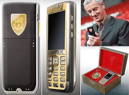 El móvil más deportivo, 250 unidades del Liverpool Legends Edition