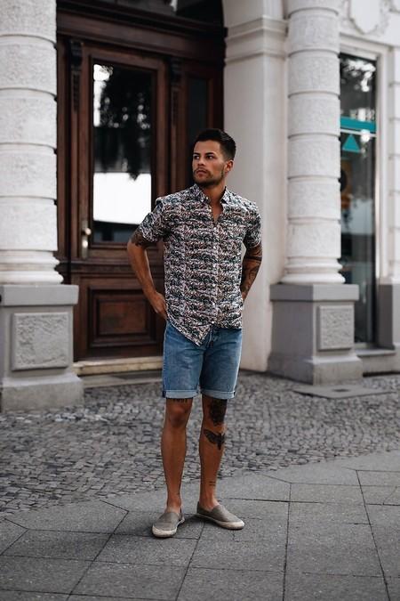 El Mejor Street Style De La Semana Shorts Alpargatas 2019 08