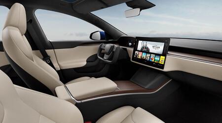Tesla Model X 2021 Interior 1