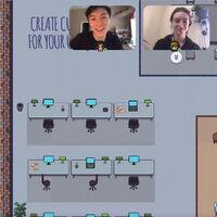 Oficinas virtuales como videojuegos 2D: así buscan replicar la experiencia social del trabajo presencial en remoto