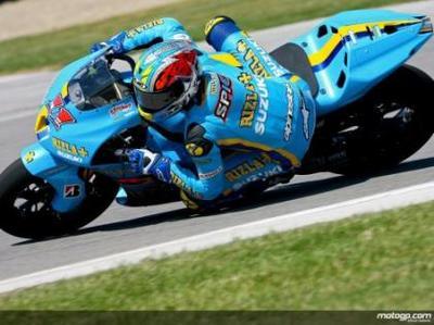 Niccolò Canepa vuelve a ser el más rápido en Indianápolis