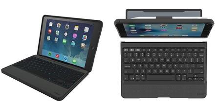 e9c2239721799 Rugged Book Pro es la versión resistente de los teclados Zagg. Creada para  los iPad de 9