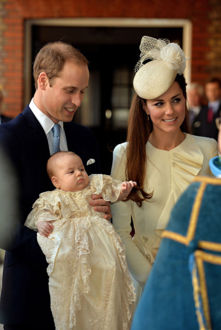 McQueen Kate Middleton bautizo George