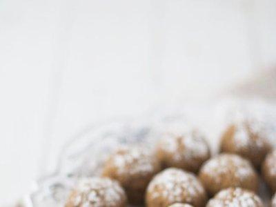 Bolitas dulces de pulpa de chufa. Receta fácil de aprovechamiento