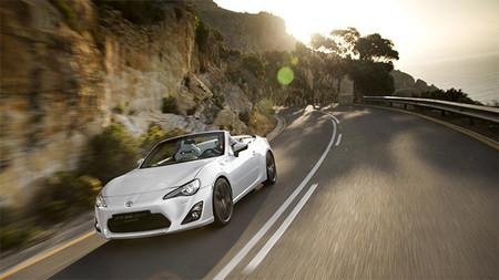 Toyota FT 86 Open Concept, esquivando las sombras, corto y galería de fotos
