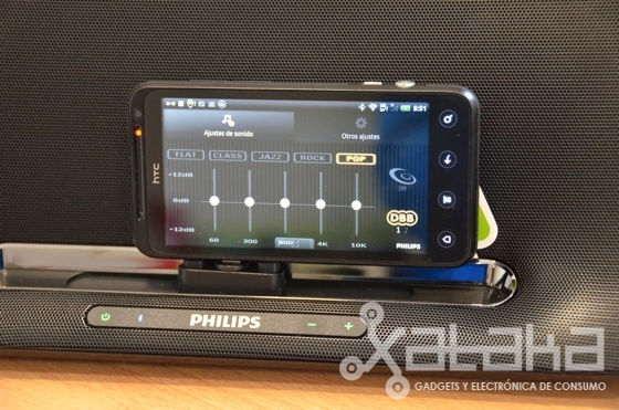 Philips Fidelio AS851 prueba
