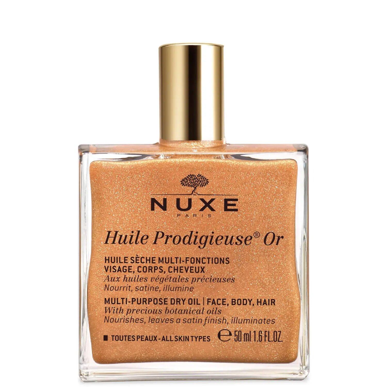 Aceite seco multiusos Huile Prodigieuse Golden Shimmer de NUXE