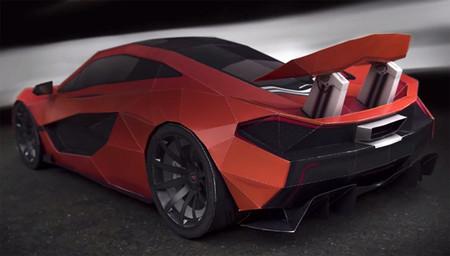 De manitas va la cosa: McLaren P1 de papel