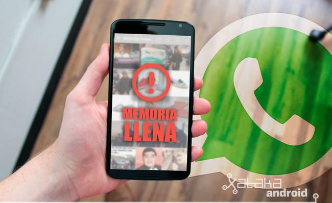 Cómo borrar vídeos y fotos de WhatsApp para liberar espacio en el móvil
