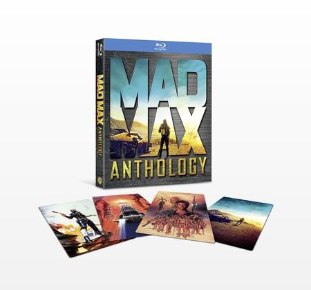 Mad Max Anthology, con las 4 películas de la saga en Blu-ray, por 9,49 euros