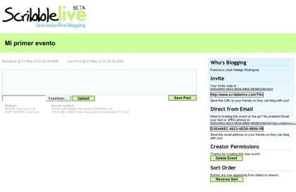 """ScribbleLive, nueva plataforma para bloguear """"en vivo"""""""