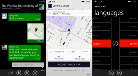 Uber, Telegram y Traductor reciben nuevas actualizaciones en Windows Phone