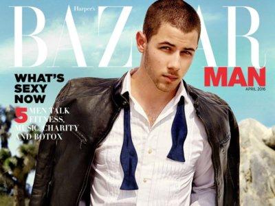 Nick Jonas, de chico a hombre en la portada de Harper's Bazaar Man