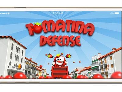 Entra en la Tomatina sin ensuciarte lo más mínimo con Tomatina Defense