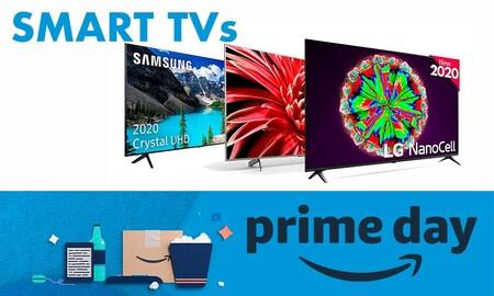 Amazon Prime Day 2020: mejores ofertas del día en televisores LG, Samsung, Sony o Philips (14 de octubre)