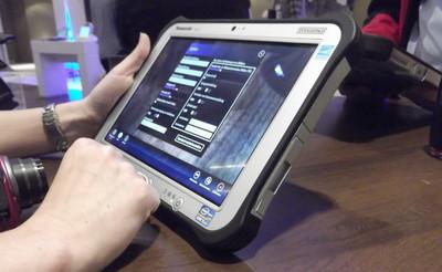 Toughpad FZ-G1, un primer vistazo al tablet profesional de Panasonic